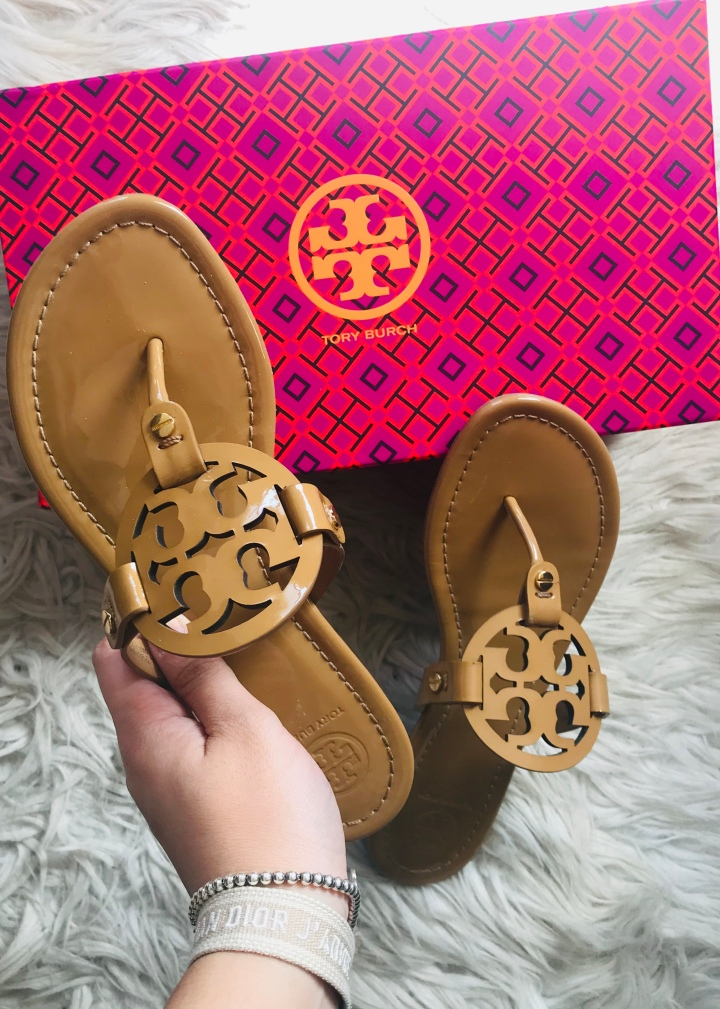 Spring Style #2: Three Ways to Wear the Tory Burch Miller FlipFlops